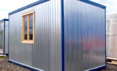 Блок-контейнер 4 х 2.4 м