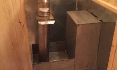 Строительство бани 6 х 2.3 м