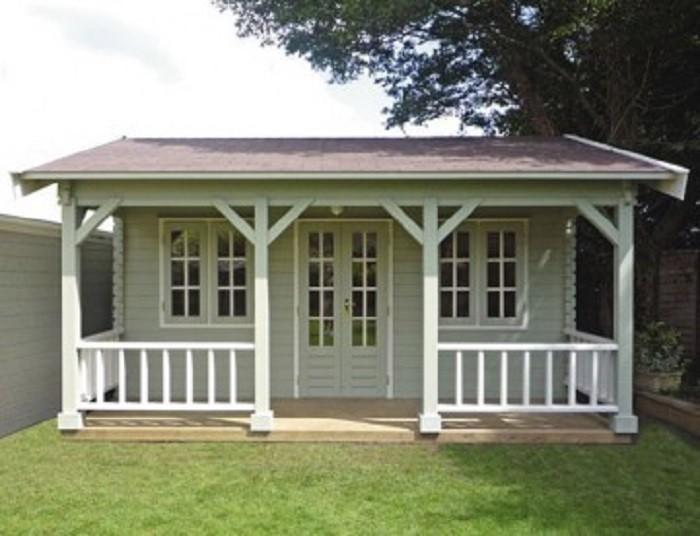 Садовый домик 6 х 4.2 м