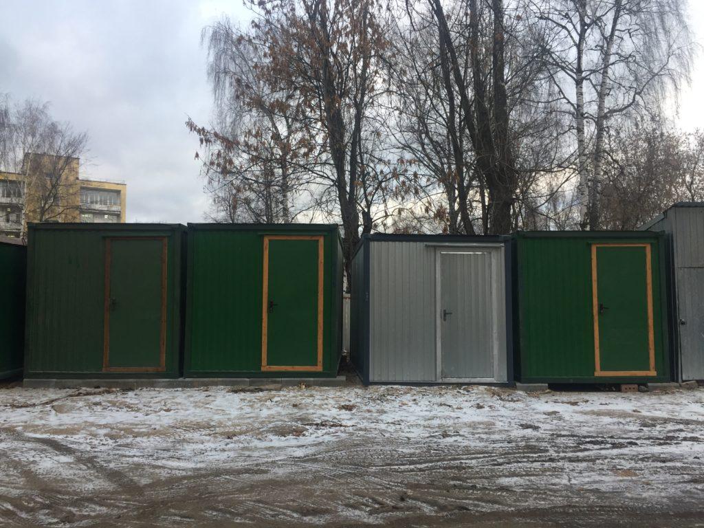 Блок-контейнеры г. Ярославль пр-т Ленина 18/50